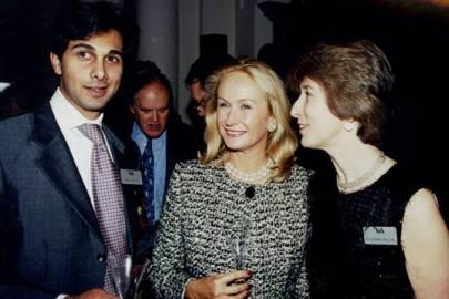 Dr Amin Jaffer, Mrs David Vaughan and Dr Deborah Swallow