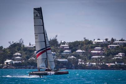BAR sailing training, Bermuda