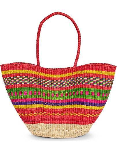 Pitusa straw bag