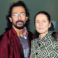 Haider Ackermann and Karla Otto