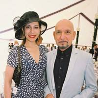 Lady Kingsley and Sir Ben Kingsley