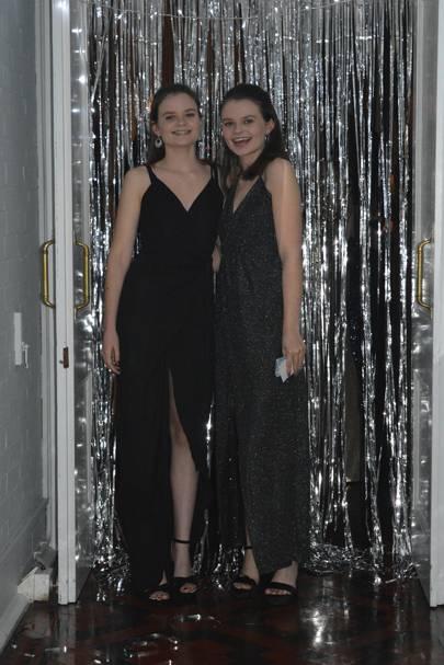 Helen Eggleton and Samantha Eggleton