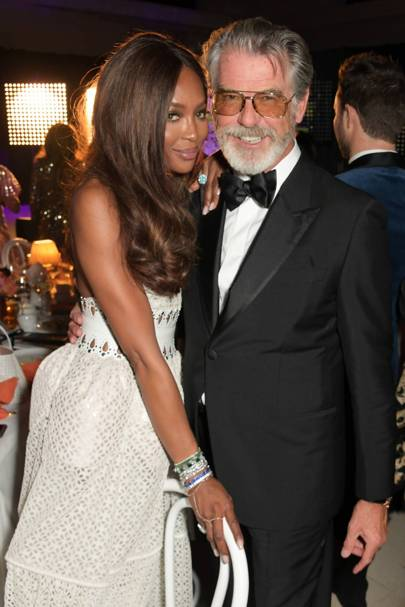 Naomi Campbell's Fashion For Relief party