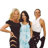 Charlene de Ganay, Ana Paula Junqueira and Mrs Guy Dellal