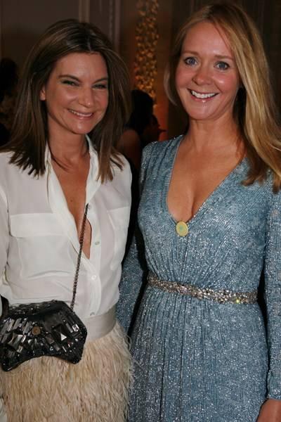 Natalie Massenet and Kate Reardon