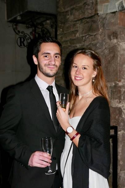 Samuel Jones and Holly Watson