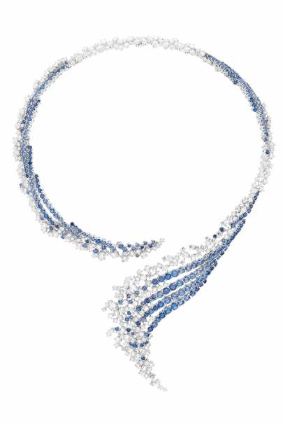 Sapphire and diamond necklace, POA, Boucheron