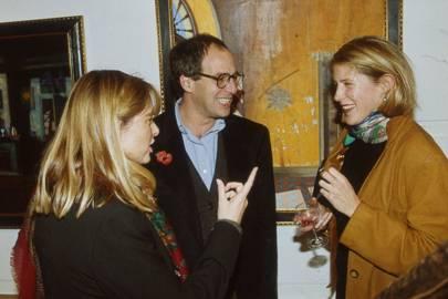 Mrs Loyd Grossman, Loyd Grosman and Mrs Jamie MacLean