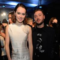 Daisy Ridley and Bobby Abley