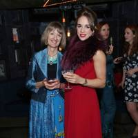 Virginia Falconer and Imogen Hervey-Bathurst