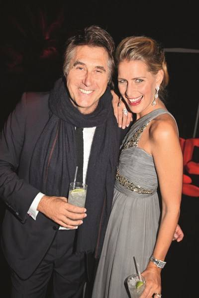 Bryan Ferry and Princess Tatiana of Greece