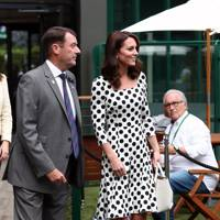 Philip Brook and the Duchess of Cambridge