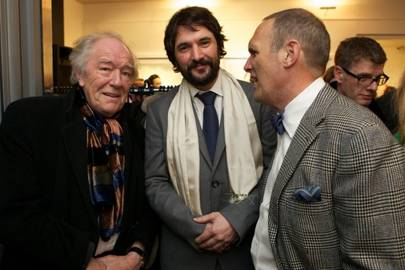 Michael Gambon, Tom Craig and A. A. Gill