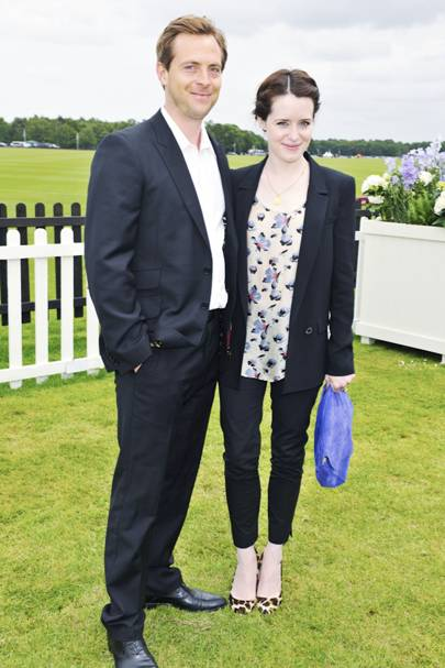 Stephen Campbell Moore and Claire Foy