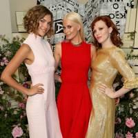 Arizona Muse, Poppy Delevingne and Karen Elson