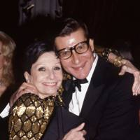 Zizi Jeanmarie and Yves Saint Laurent
