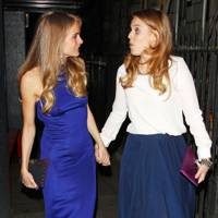 Princess Beatrice and Cressida Bonas