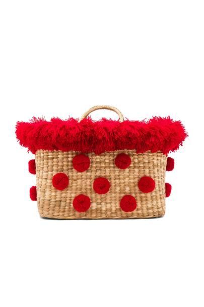 Nannacay straw bag