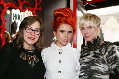 Paloma Faith, Vicki Sarge and Brooke Metcalfe