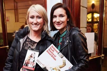 Lauren O'Rourke and Sarah Solemani