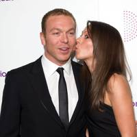 Sir Chris Hoy and Sara Kemp