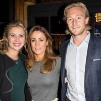 Holly Branson, Natalie Pinkham and Owain Walbyoff