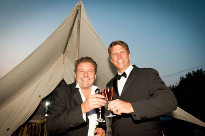 Martin Roberts and Mark Sorrill