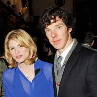 Jodie Whittaker and Benedict Cumberbatch