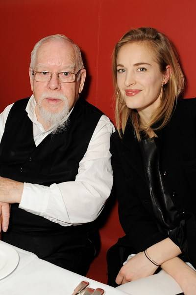 Peter Blake and Polly Morgan