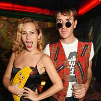 Charlotte Dellal and Otis Ferry