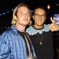 Dominic Jones and Oliver Proudlock