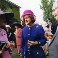 Mrs Dermot McKechnie, Lady Mariota Napier and the Hon Malcolm Napier