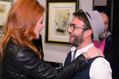 Sarah, Duchess of York and Christian Hook