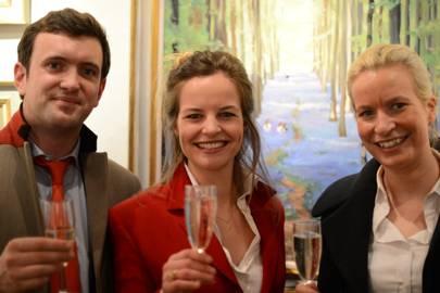 Ed Boord, Anna Dawson and Kristin Langland