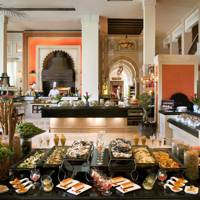 The Friday Brunch at Jumeirah Al Qasr hotel