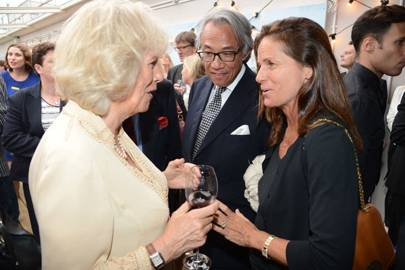 The Duchess of Cornwall, Sir David Tang and Lady Tang