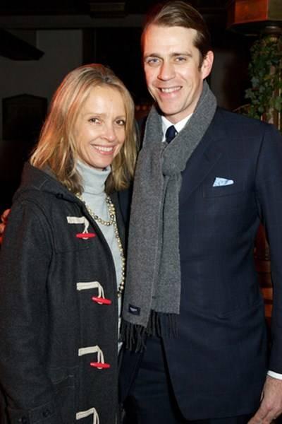Sabrina Guinness and Ben Elliot