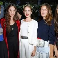 Noor Fares, Tatiana Santo Domingo, Eugenie Niarchos, Dasha Zhukova and Dana Alikhani