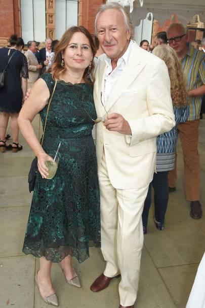 Alexandra Shulman and Harold Tillman