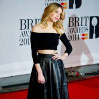 At the Brit Awards in 2014