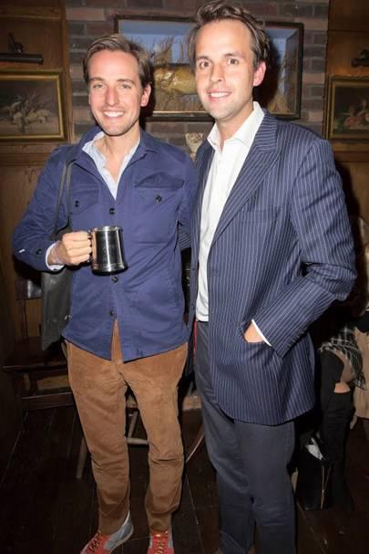 Alexander Gilkes and Charlie Gilkes