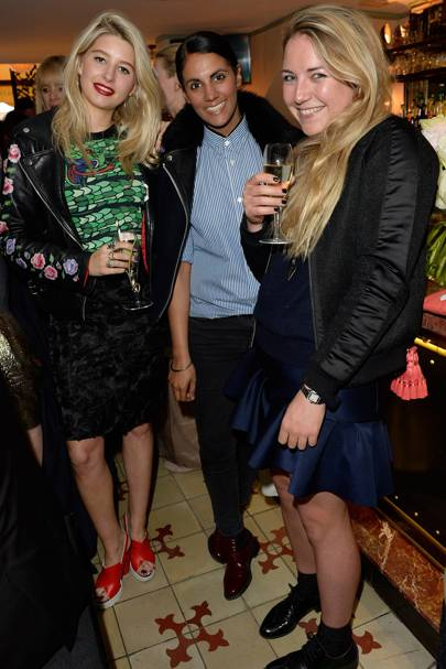 Phoebe-Lettice Thompson, Deep Kailey and Ailsa Miller