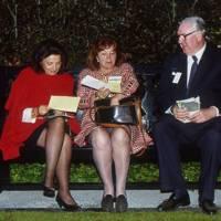 Countess Attolico, the Hon Mrs Mark Lennox-Boyd and Henry Keswick