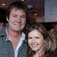 Richard Ward and Liz Earle