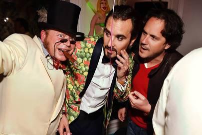 Christophe Hameline, Arthur de Soultrait and Laurent Gourcuff