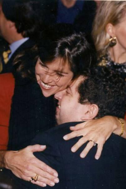 Mrs Andres Piedrahita and Manolis Mavroleon