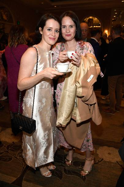 Claire Foy and Gemma Foy