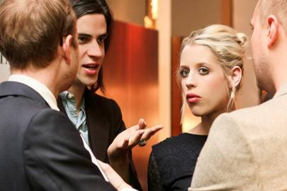 Max Dundas, Thomas Cohen and Peaches Geldof