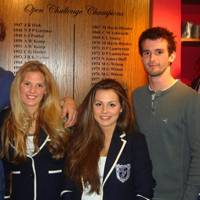 James Johnston, Jessica Hayes, Isabelle Hatch, Toby Forester and Guy Wilson