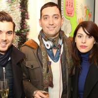 Roberto Cubas, Andrea Coffani and Yasmina Pons